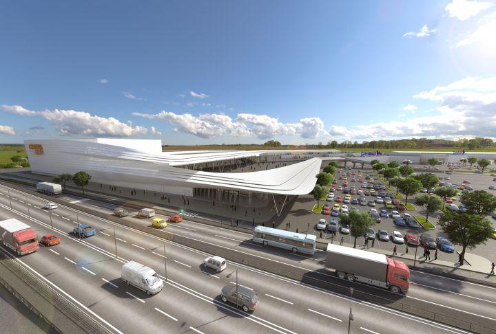 Noul mall NEPI din Timisoara