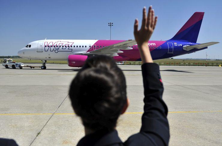 Új arculatot kaptak a Wizz Air-gépek