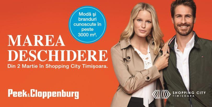 Peek Cloppenburg Se Deschide Pe 2 Martie In Shopping