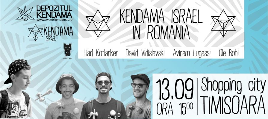Kendama_Shopping City Timisoara