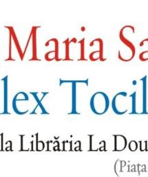 Afis Ana Maria Sandu si Alex Toci