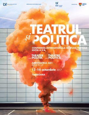 Afis - Teatrul si politica 2017